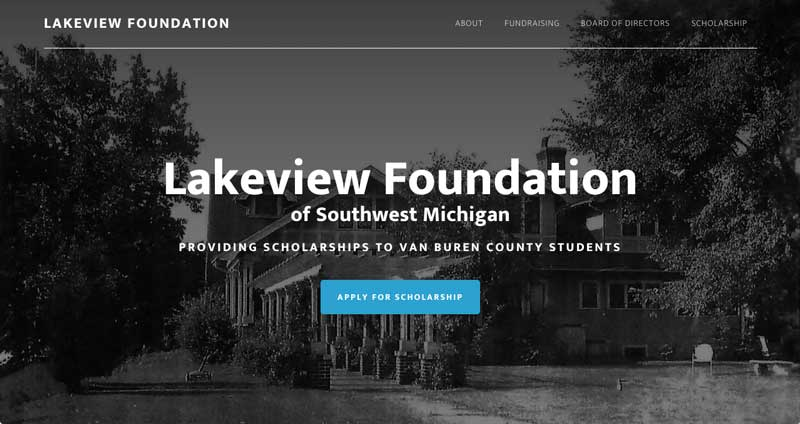 Lakeview Foundation Website